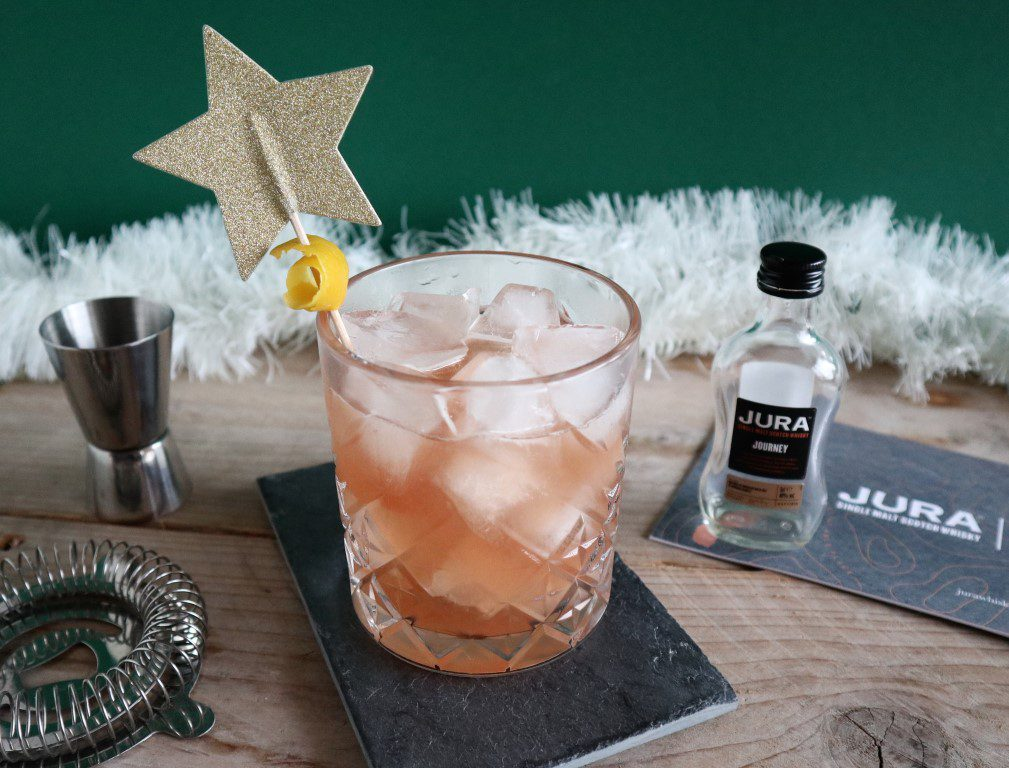 Kerst cocktails - Jura Whisky Sour