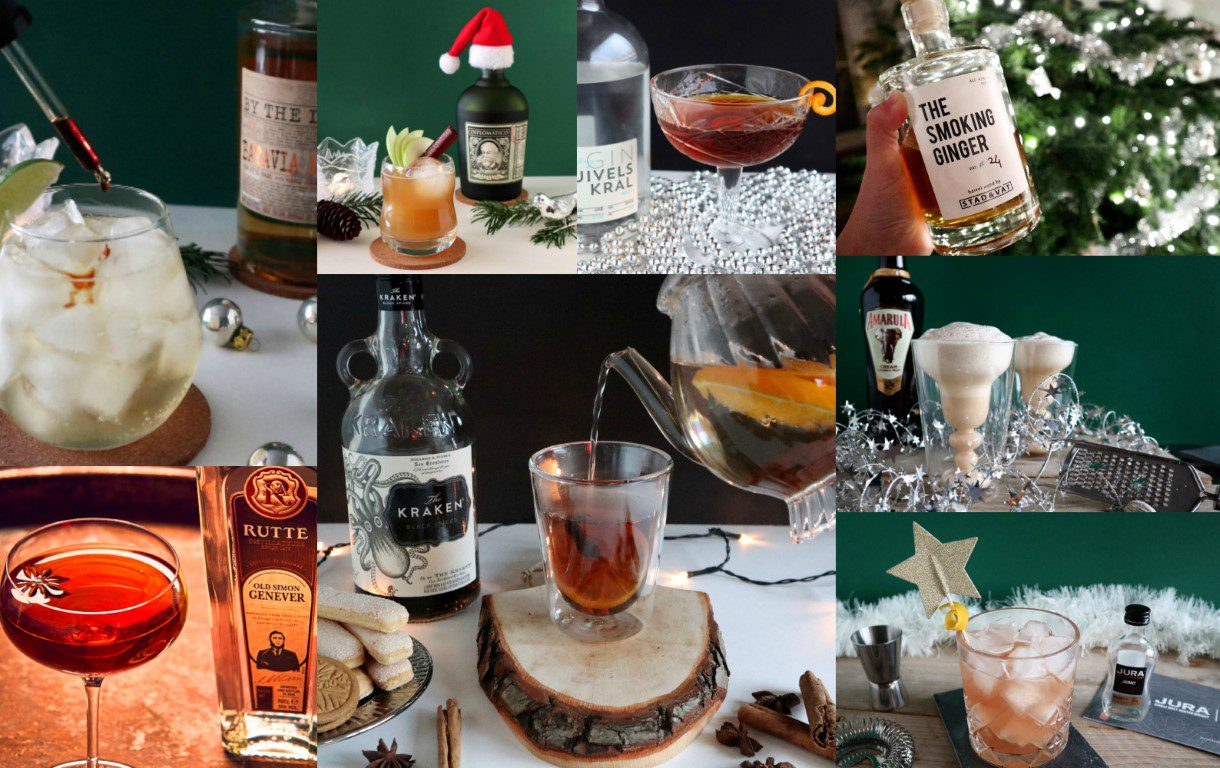 Kerstcocktails Collage
