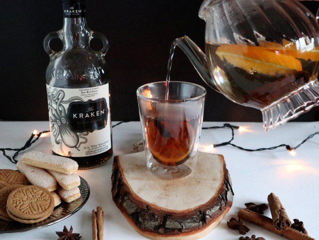 Kerst cocktails - Kraken Grog