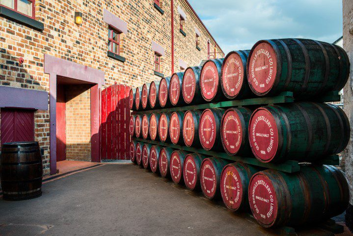 Op bezoek bij: The Old Bushmills Distillery