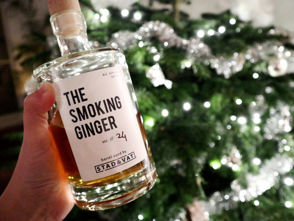 Kerst cocktails - Stad & Vat Smoking Ginger