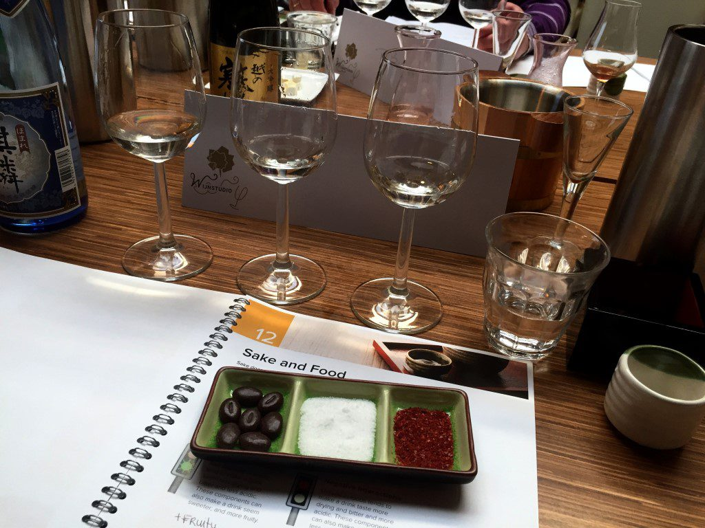 WSET Sake Level 1 cursus