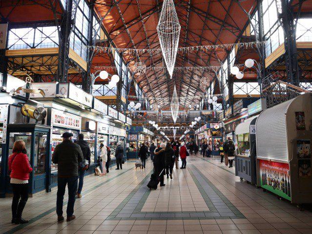 Alle culi tips voor een stedentrip Boedapest - Grote Markthal
