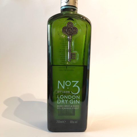 No3 London Dry Gin