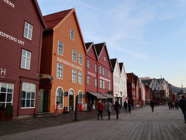 Wat te doen in Bergen Noorwegen - Bryggen