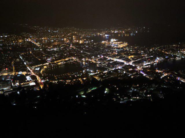 Wat te doen in Bergen Noorwegen - Fløyen