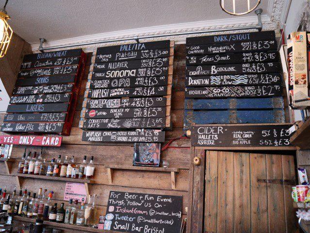 Alle tips voor een citytrip Bristol - Small Bar