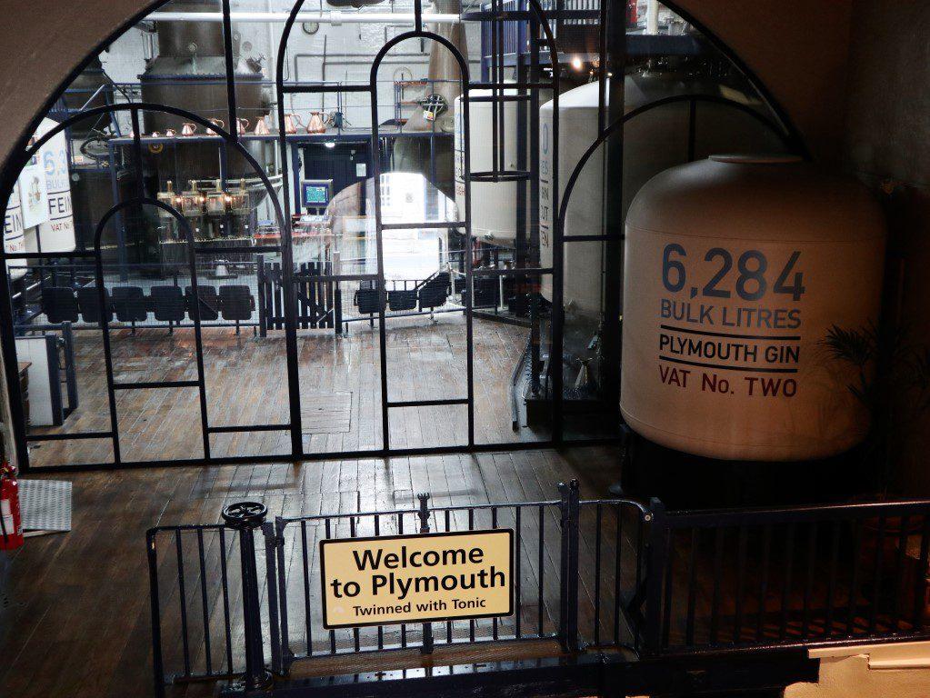 Culinair genieten aan de Engelse Rivièra - Plymouth Gin