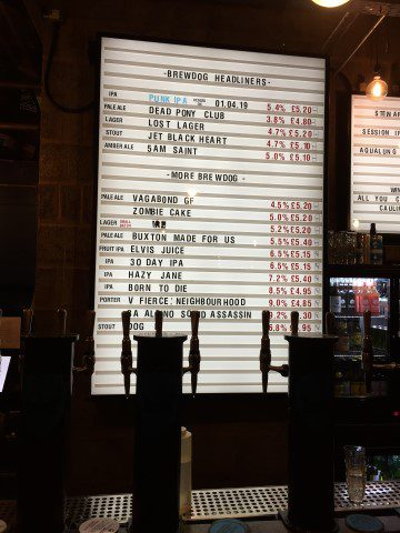 Wat te doen in Glasgow mijn top-10 bezienswaardigheden en tips! - Brewdog Doghouse
