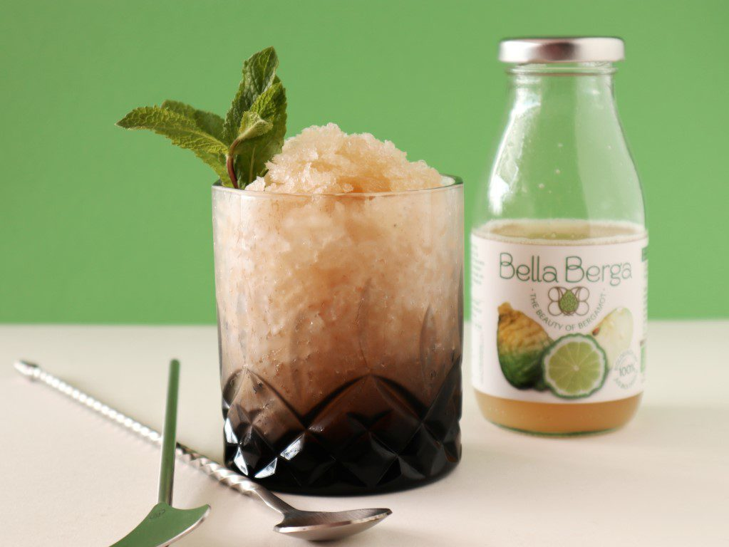 6 simpele en zomerse cocktails - Bella Berga bergamot slushie