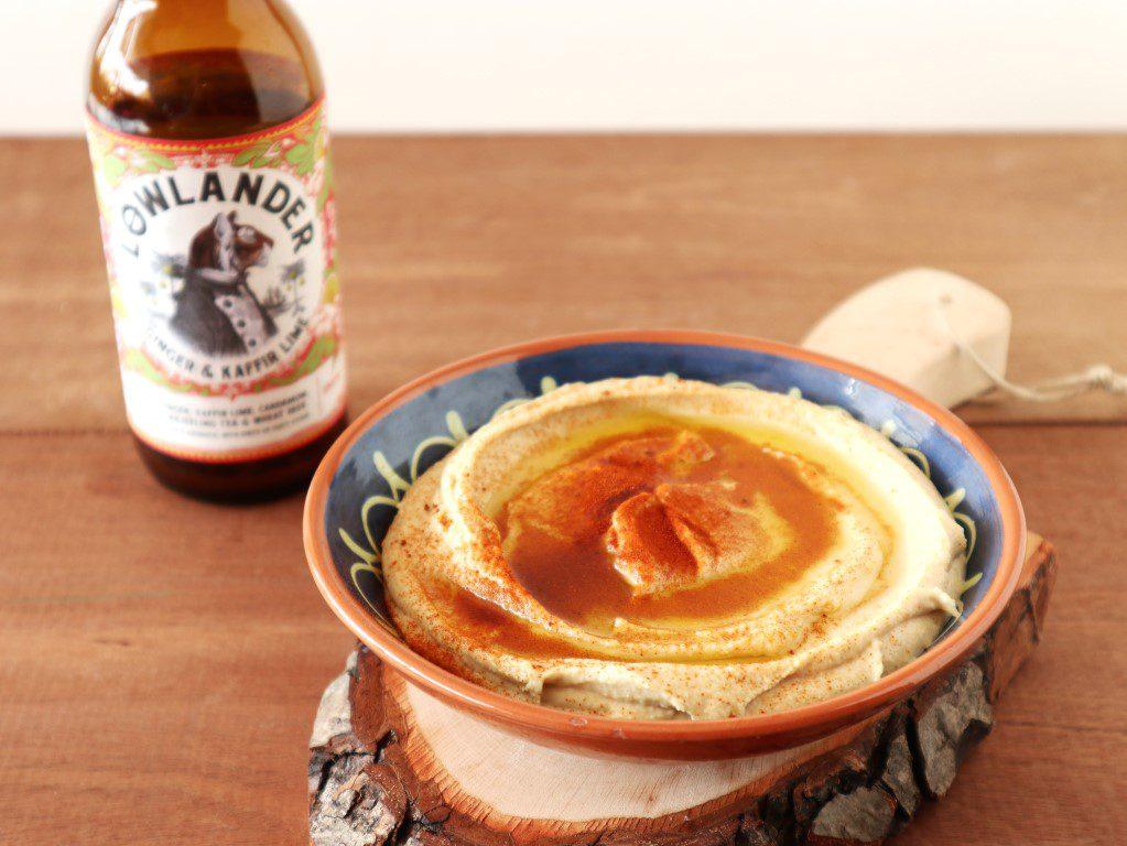 Bier hummus