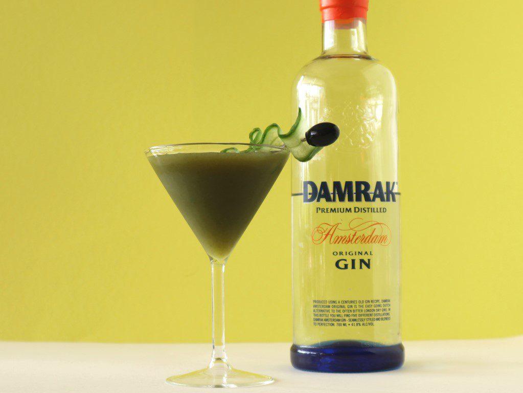 6 simpele en zomerse cocktails - Damrak komkommer gin cocktail