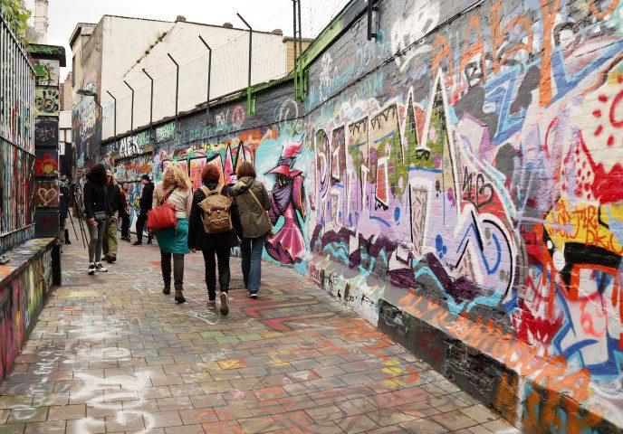 Graffiti street Gent