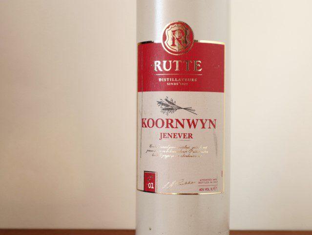 Nederlandse Jenever - Rutte Koornwyn