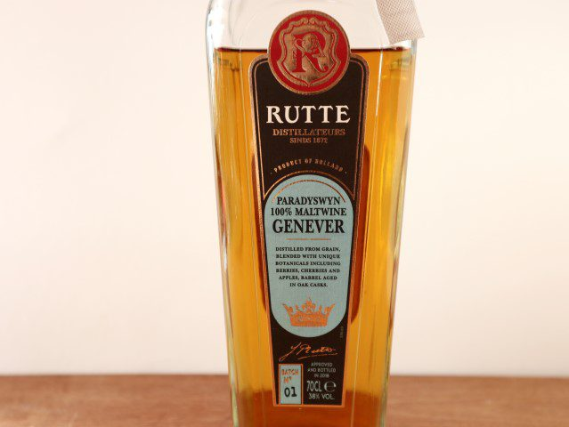 Nederlandse Jenever - Rutte Paradyswyn