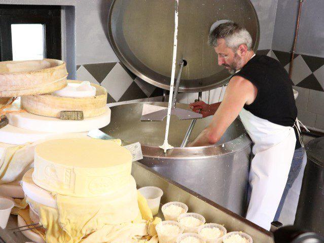 Op bezoek bij Silter kaasmaker Andrea Bezzi in Case di Viso