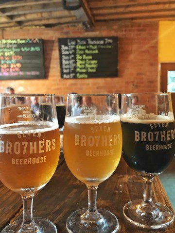Seven Bro7hers Brewery Salford - Taproom Manchester