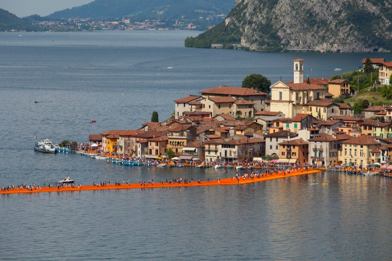 The Floating Piers - Oscar Colosio