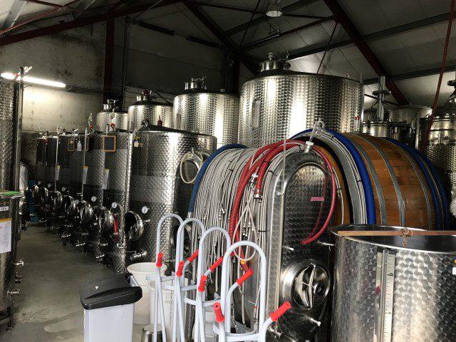 Wijngaard in België - Château Bon Baron