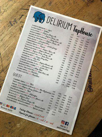 Delirium Taphouse Brussel