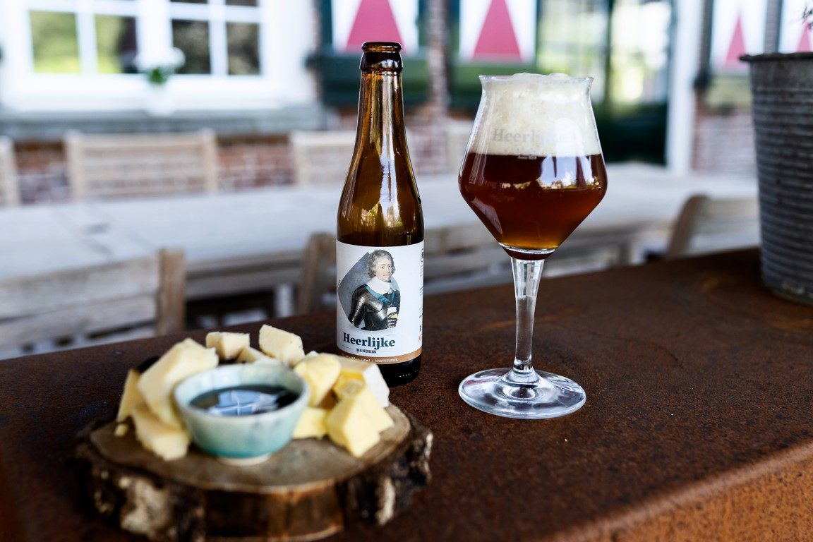 Kasteel Maurick in Vught introduceert eigen kasteelbier