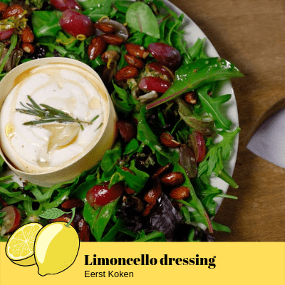 Limoncello dressing