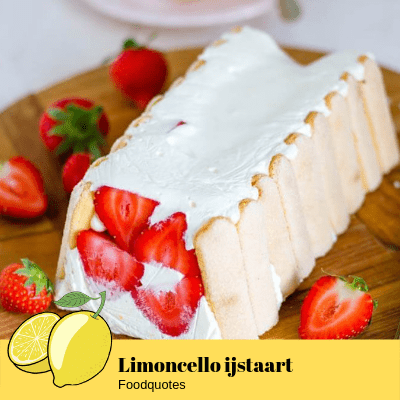 Limoncello ijstaart