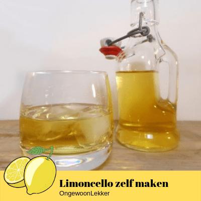 Limoncello zelf maken