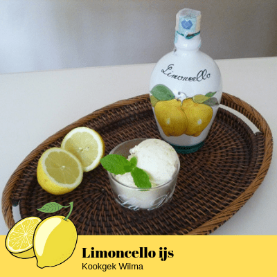 Limoncello ijs