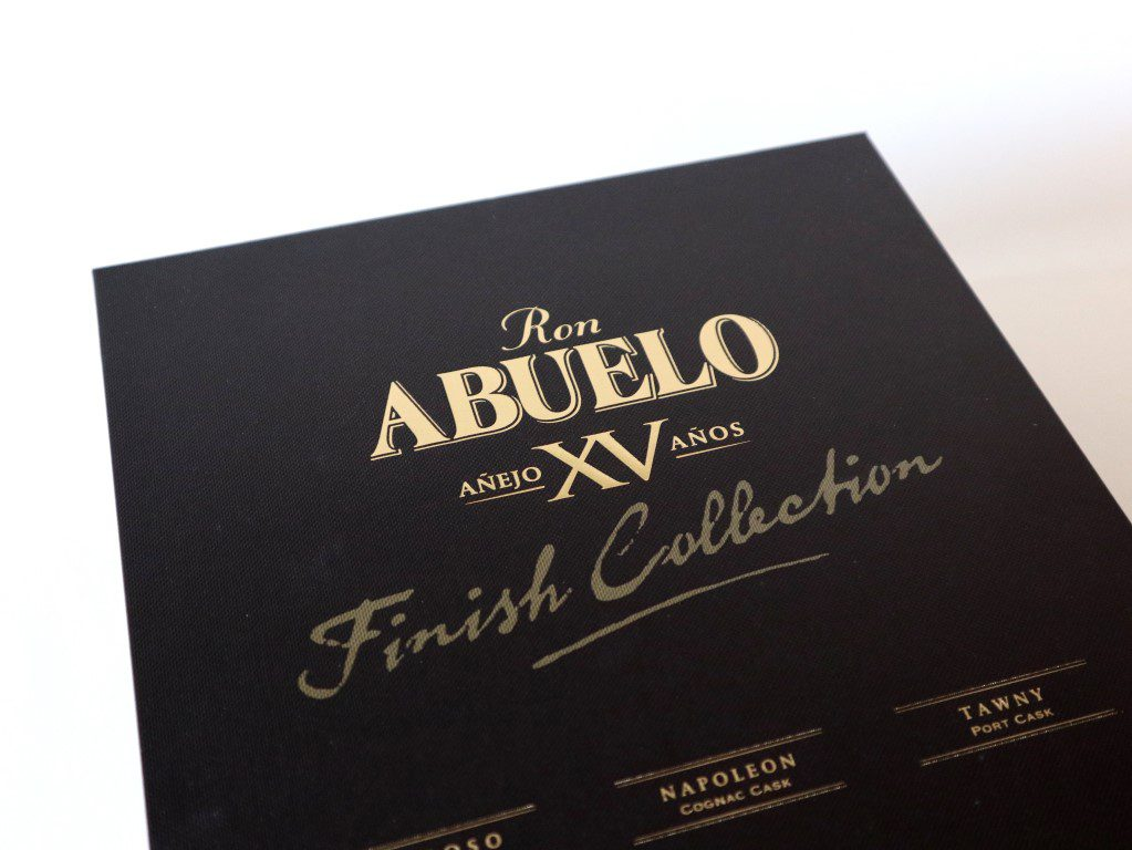 Ron Abuelo Finish Collection XV Añejo Años