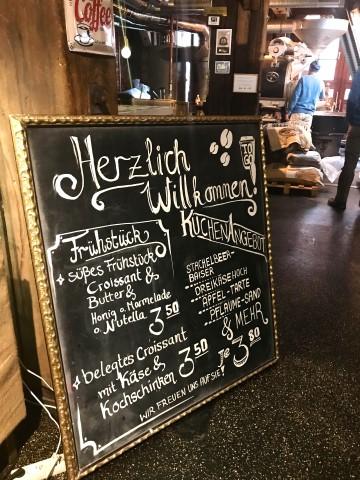Genuss Speicher Kaffee