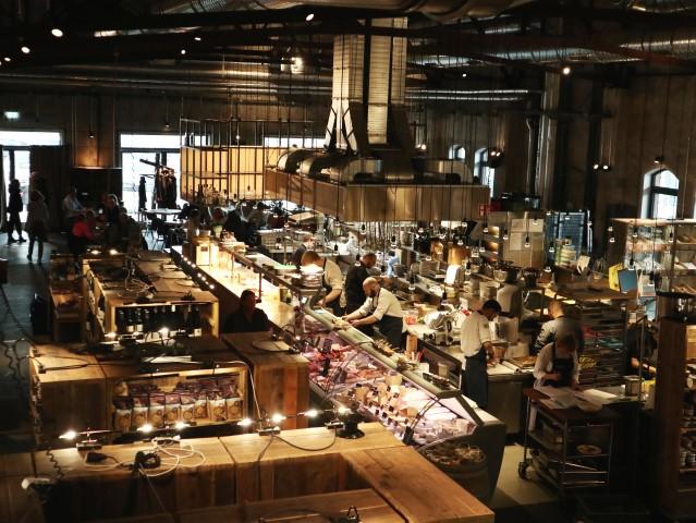 Hobenköök Restaurant en markthal