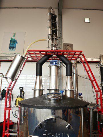 Op bezoek bij Crafty Distillery - Hills and Harbour Gin