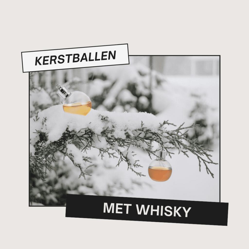 cadeautips artikel - kerstballen met whisky