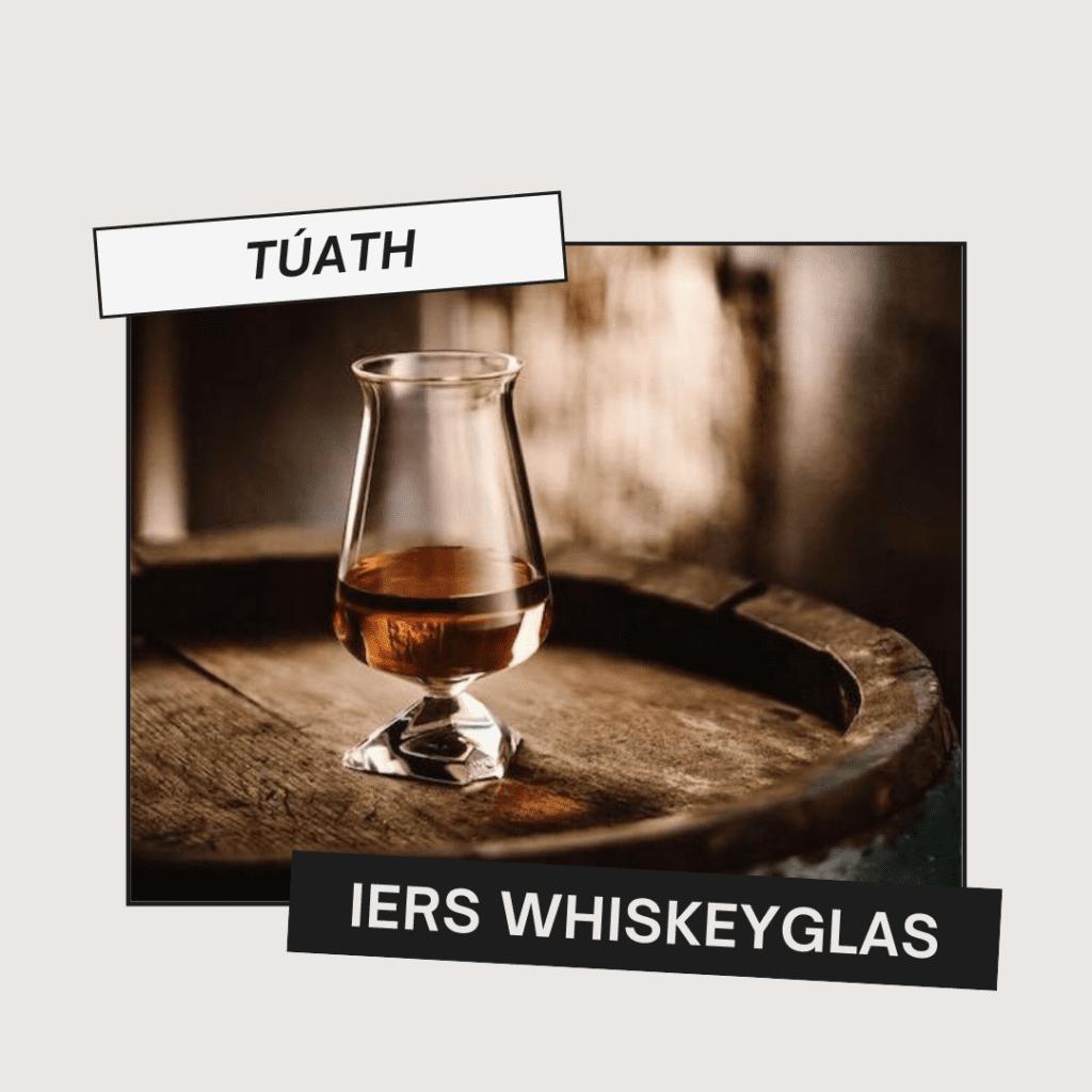Túath Iers whiskeyglas