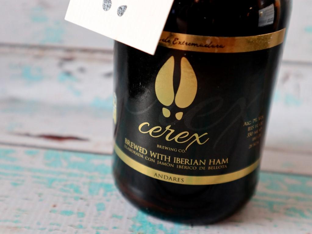 Cerex bier met Iberico jamon