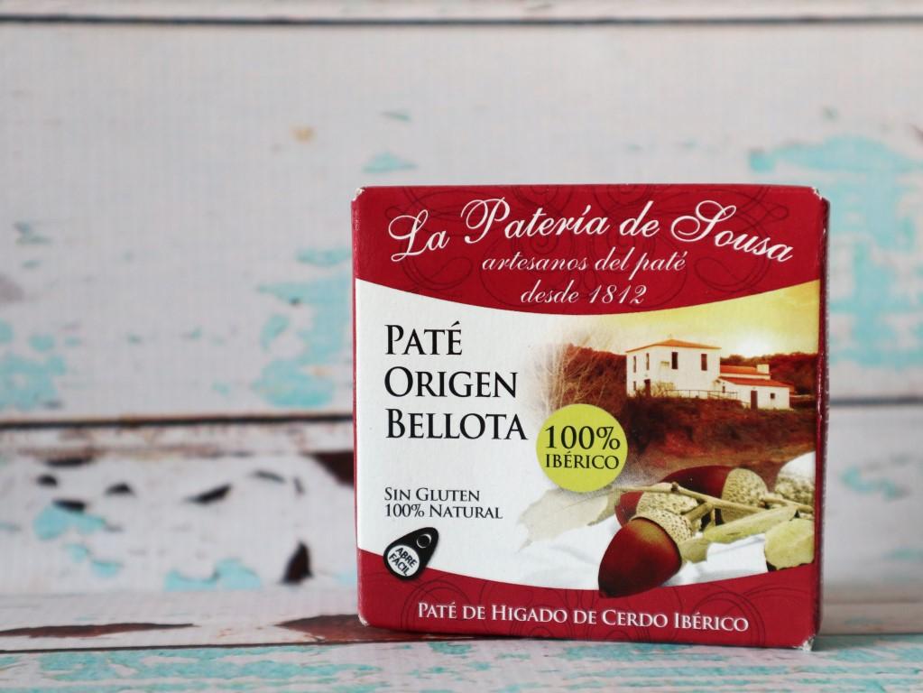 Paté met eikels uit Extremadura Spanje
