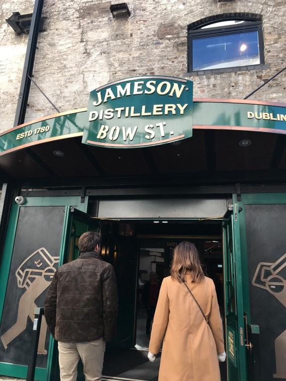 Jameson Distillery - tips weekend Dublin