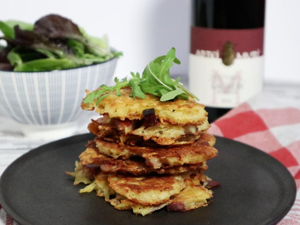 Rösti met speck en Stilfser kaas uit Zuid-Tirol