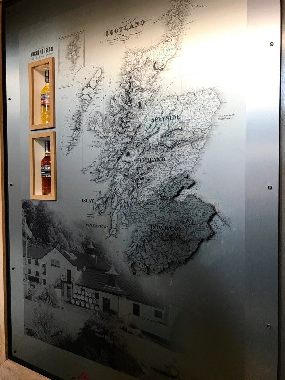 Auchentoshan Distillery - Lowlands Schotland