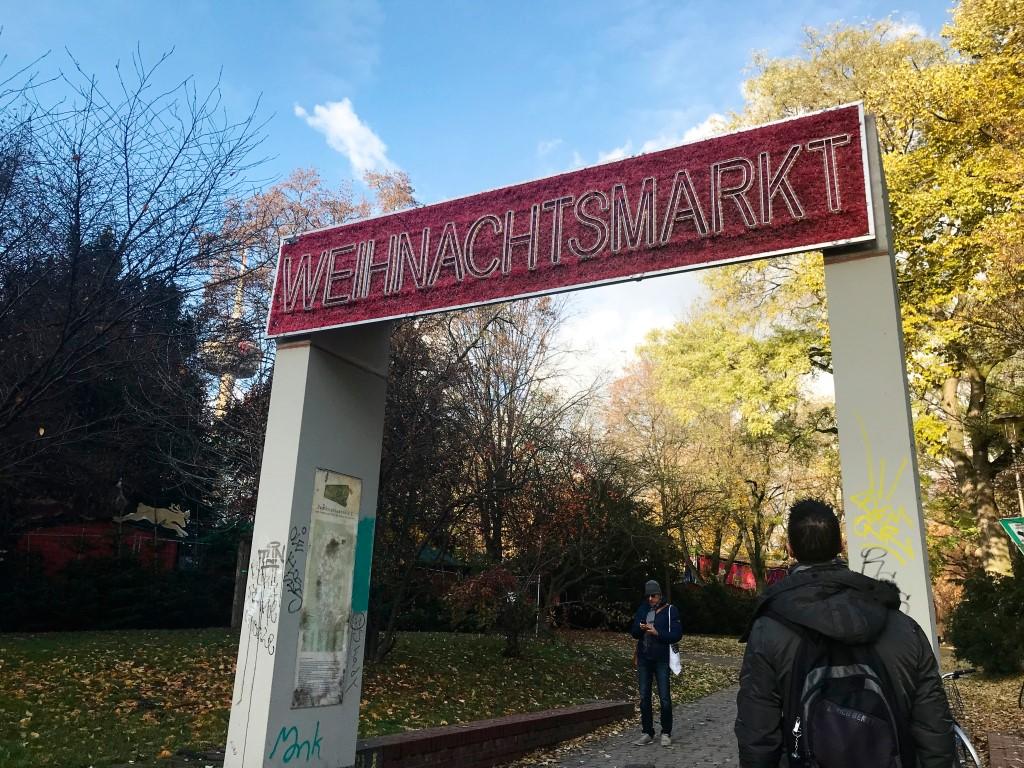 De Kerstmarkten in Keulen bezoeken - Stadtgarten