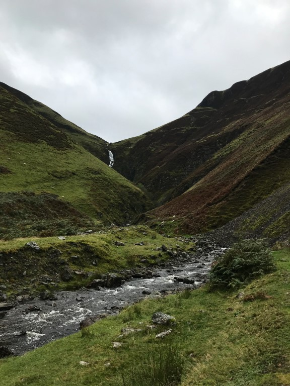 Grey Mare's tail waterfall - The Scottish Borders
