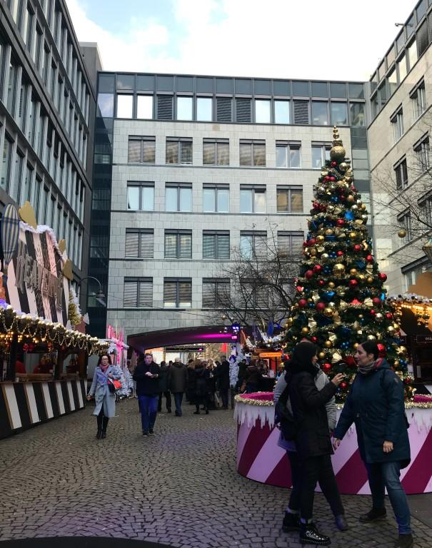 Kerstmarkt Keulen - Schaafenstrasse