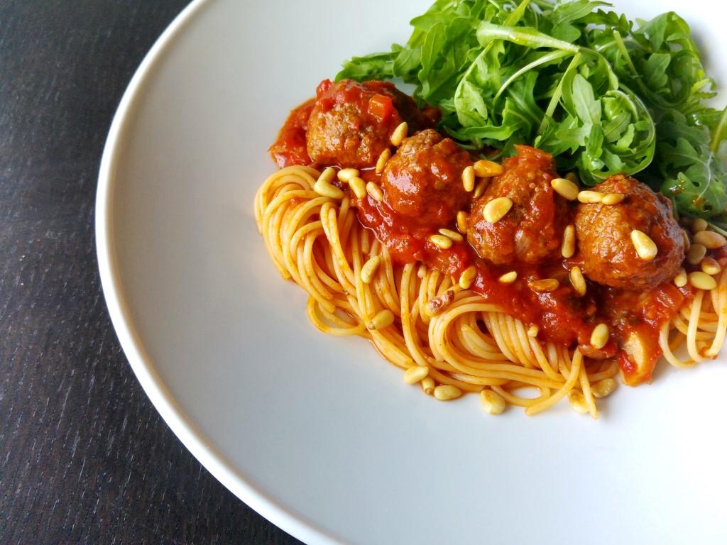 Spaghetti à la Lady en de Vagebond - Lekkere pasta recepten - simpel voor elke dag