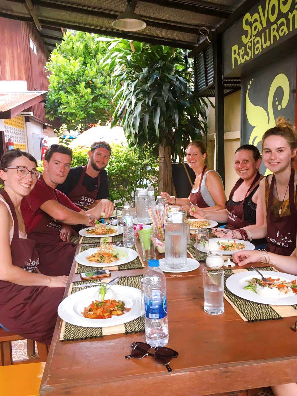Doen: op kookcursus in Pai Thailand