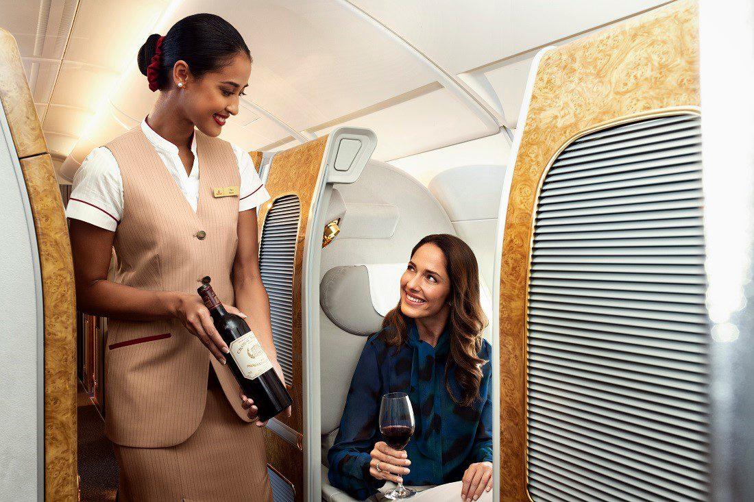 Een virtuele borrel met Emirates online wijn tutorials