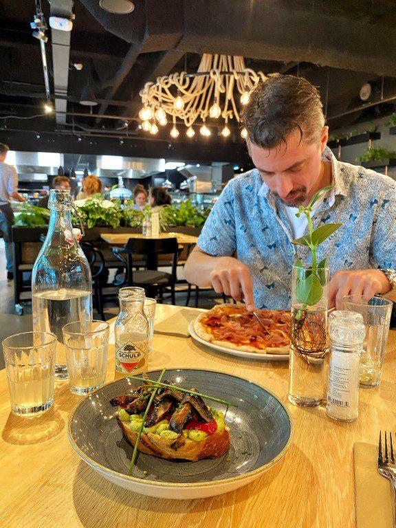 Kanteen25 Amsterdam - lunch