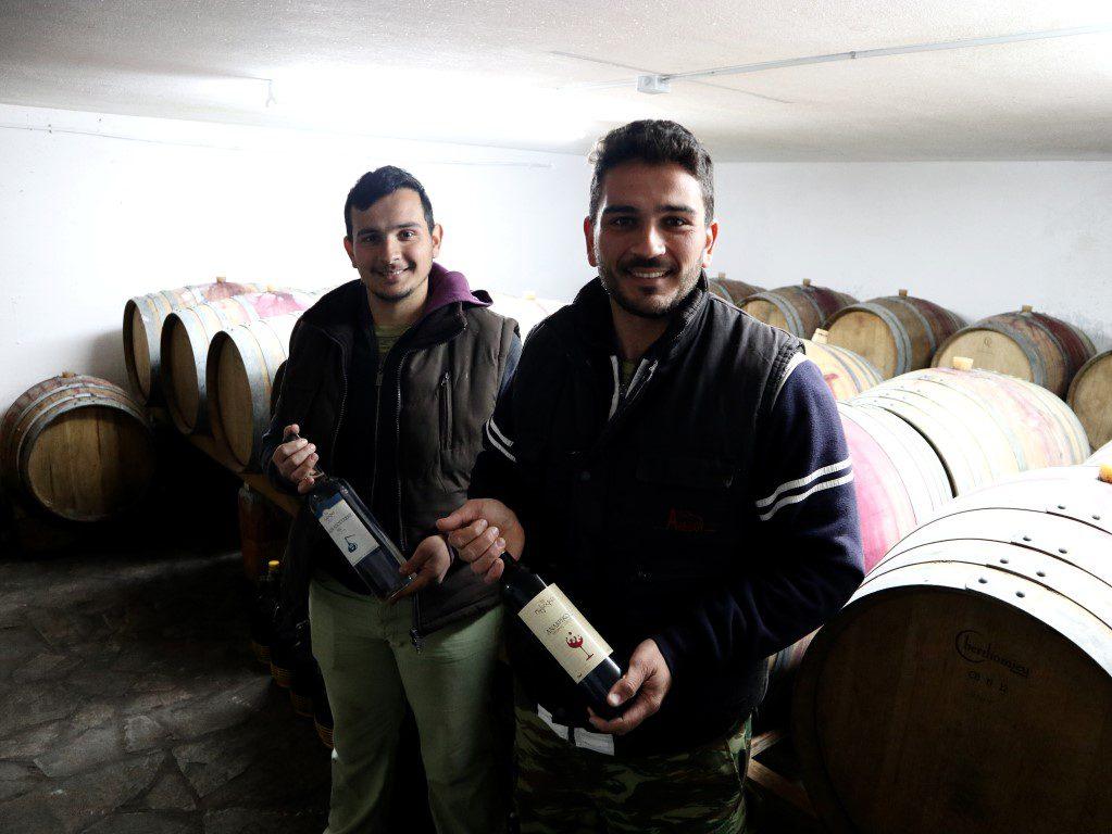 Michalis en Giorgos Polychros