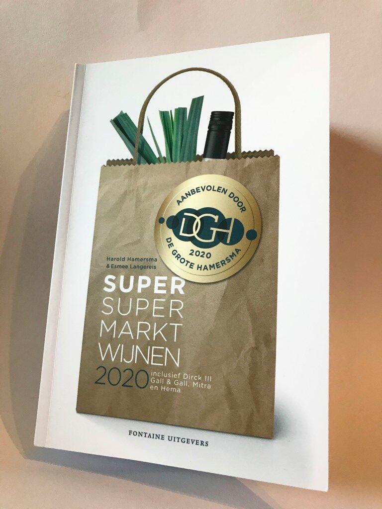 Review: Super supermarktwijnen 2020 - Harold Hamersma en Esmee Langereis