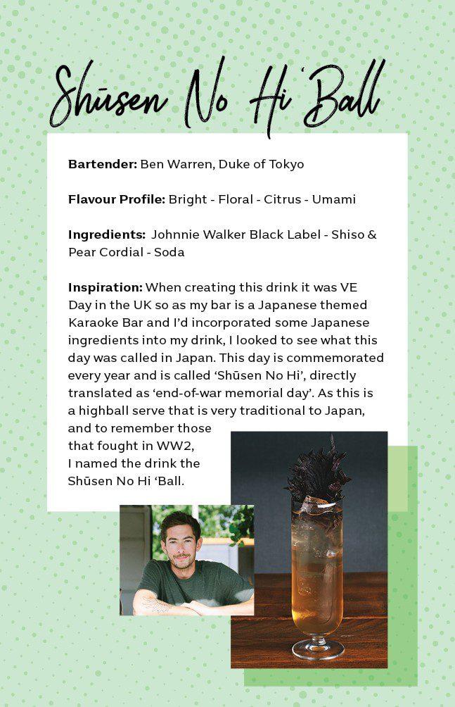 Duke of Tokyo cocktailbar